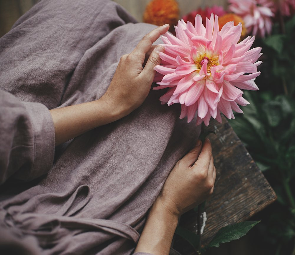 Sensuaalisen nautinnon kukka - viikko 2 Kirsti Kuosmasen verkkokurssi